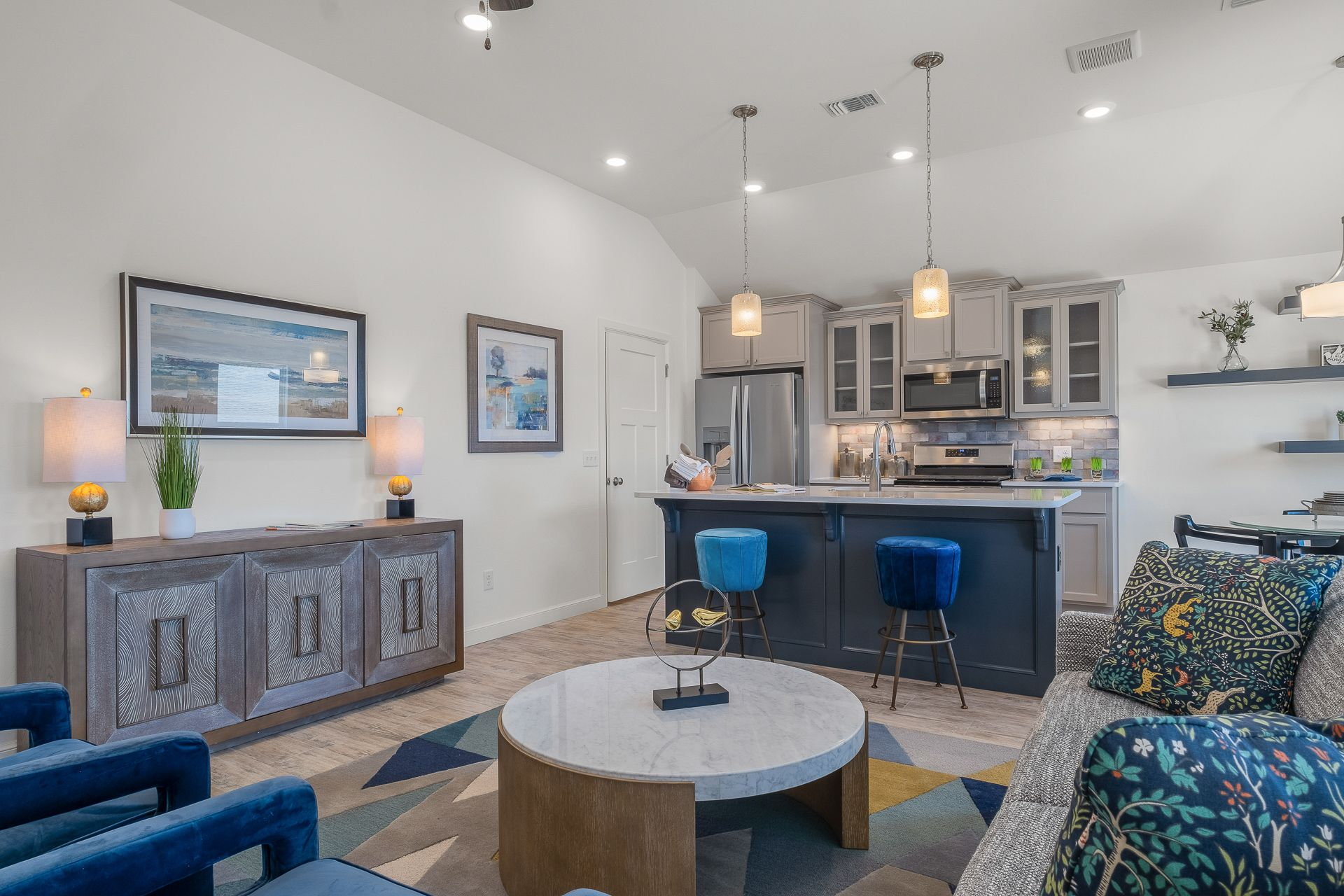 Living Area featured in the Chadwick By Ideal Homes in Oklahoma City, OK
