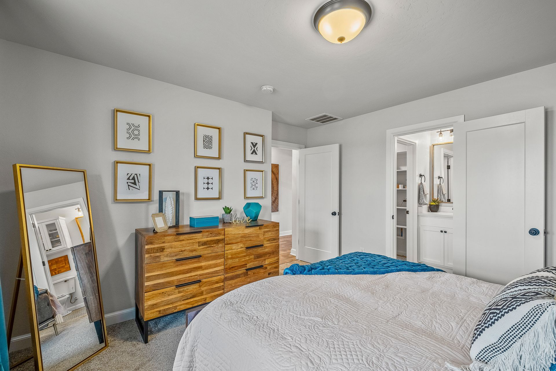 Bedroom featured in the Drummond By Ideal Homes in Oklahoma City, OK