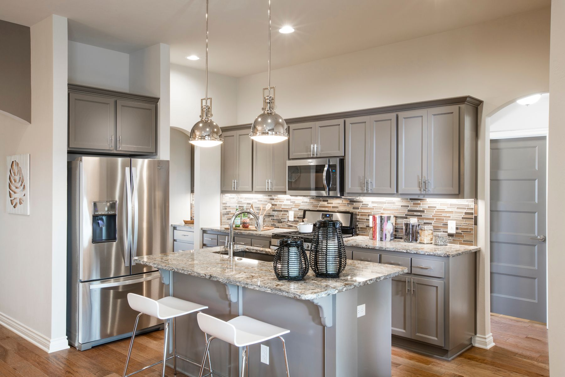 Kitchen featured in the Frederickson By Ideal Homes in Oklahoma City, OK
