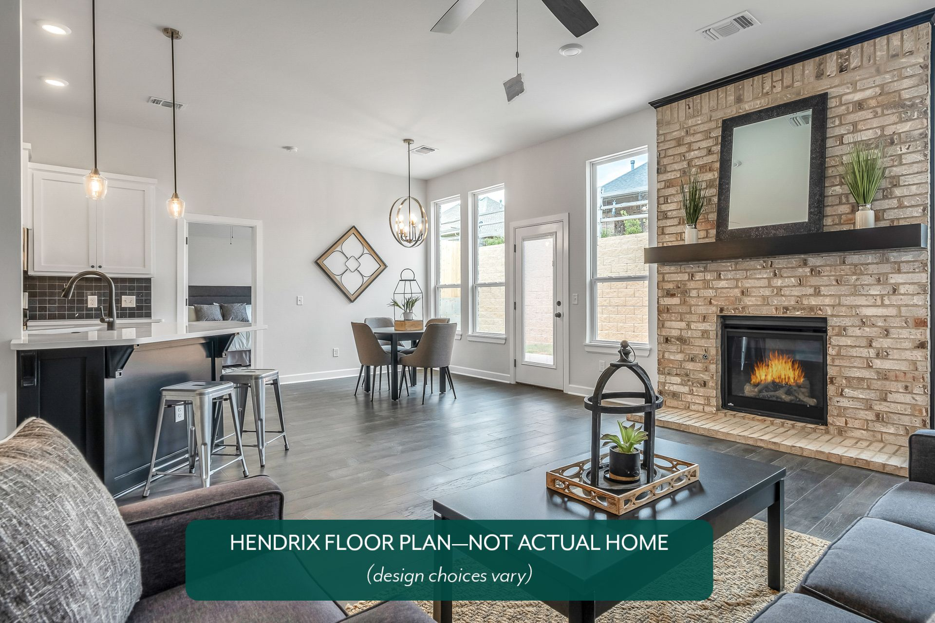 Living Area featured in the 612 Firefork Avenue By Ideal Homes in Oklahoma City, OK