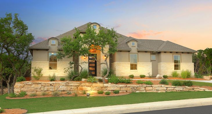 Estancia in Cibolo Canyons:The Siena Model Home