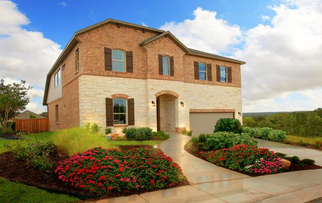 The Sequoia Model Home:Elevation C Model Home