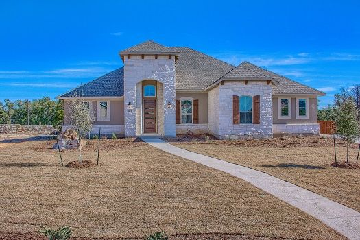 Exterior featured in the Palermo By Imagine Homes in San Antonio, TX