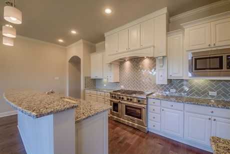 Kitchen-in-Sedona-at-Monteverde in Cibolo Canyons-in-San Antonio