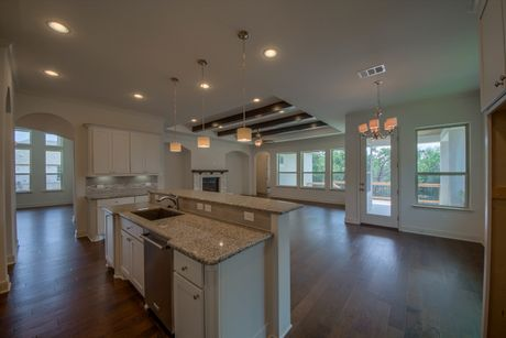 Kitchen-in-Sonoma-at-Monteverde in Cibolo Canyons-in-San Antonio