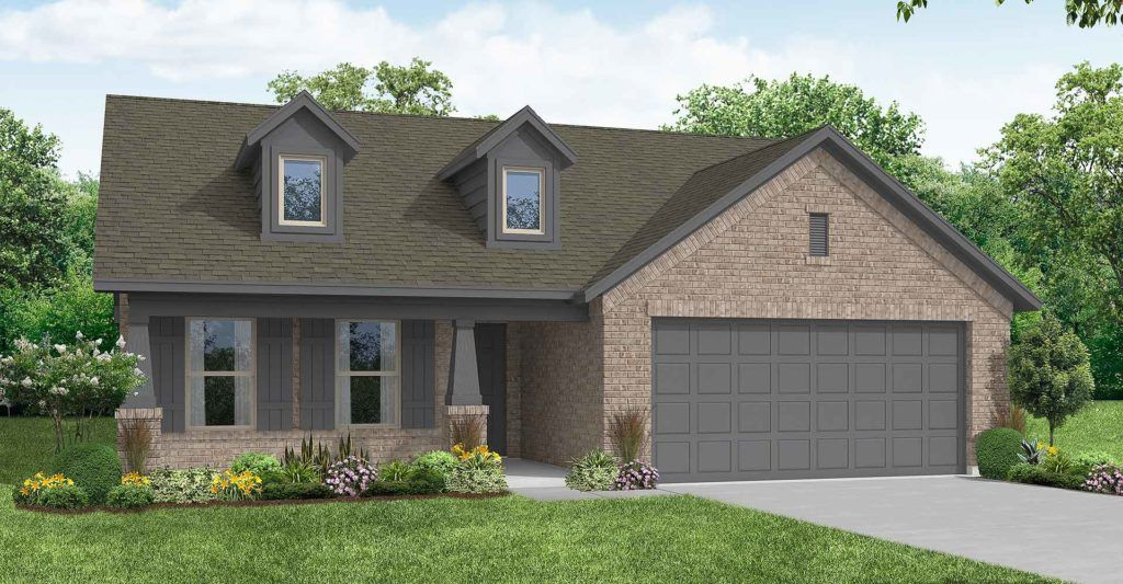 Exterior featured in the Lincoln By Impression Homes in Fort Worth, TX