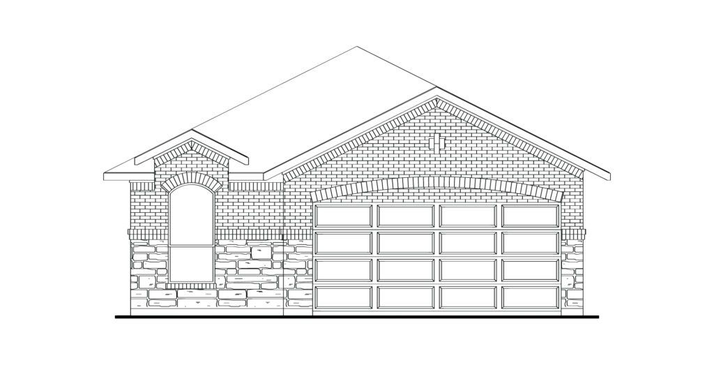 Exterior featured in the Hickory By Impression Homes in Dallas, TX