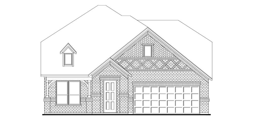 Exterior featured in the Stirling By Impression Homes in Dallas, TX