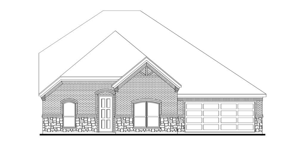 Exterior featured in the Goodrich By Impression Homes in Dallas, TX