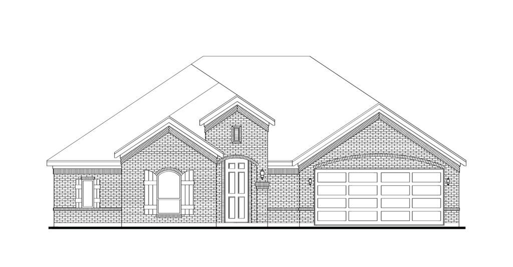 Exterior featured in the Alderbury By Impression Homes in Dallas, TX
