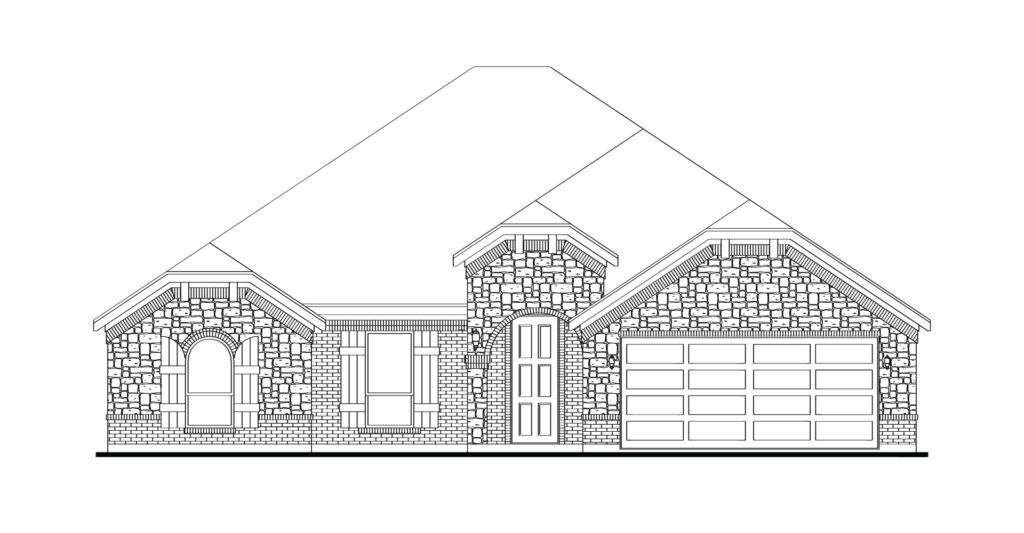 Exterior featured in the Cromwell By Impression Homes in Dallas, TX