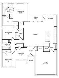 Cromwell - Hopkins Meadows: Krum, Texas - Impression Homes