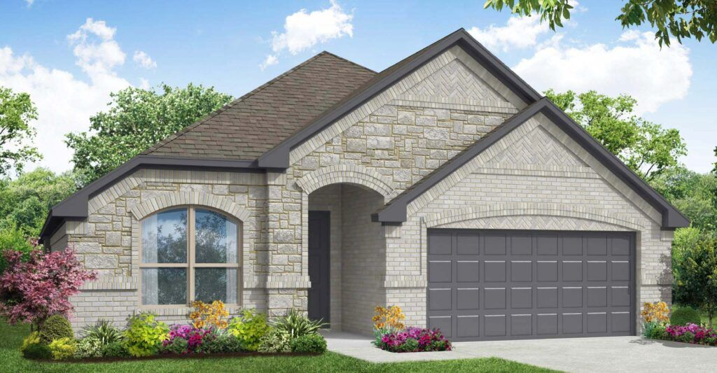 Exterior featured in the Kingston By Impression Homes in Fort Worth, TX