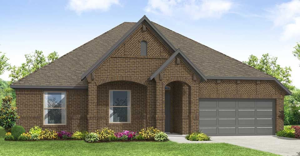 Exterior featured in the Donnington By Impression Homes in Dallas, TX