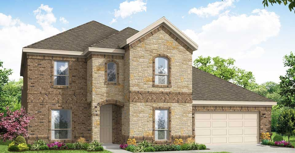Exterior featured in the Radcliffe By Impression Homes in Dallas, TX