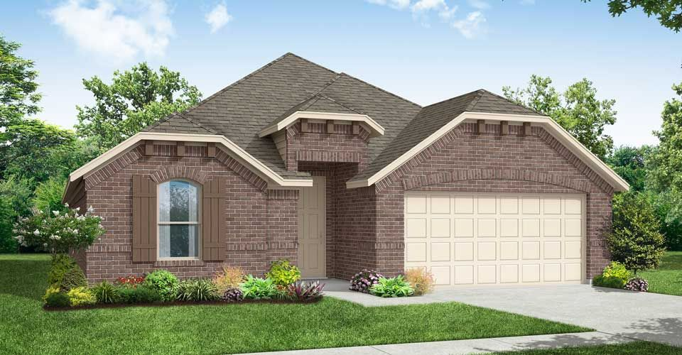 Exterior featured in the Chester By Impression Homes in Fort Worth, TX