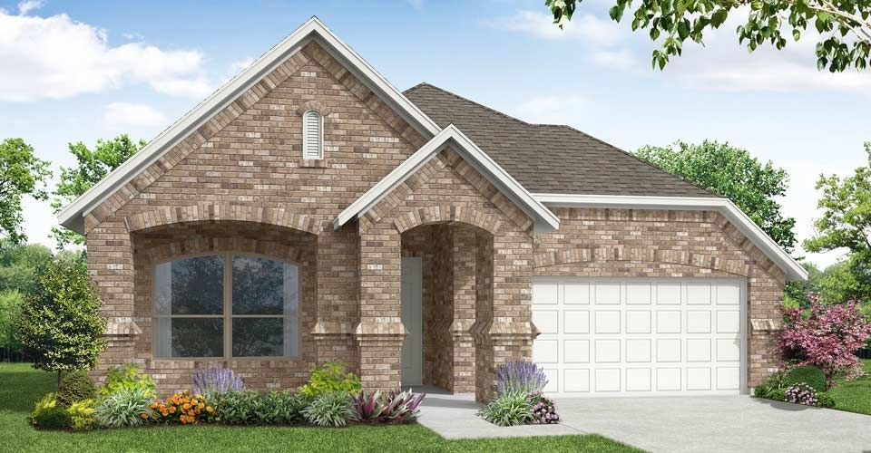 Exterior featured in the Cambridge By Impression Homes in Fort Worth, TX