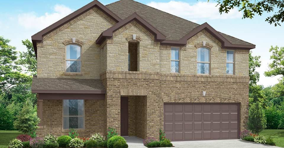 Exterior featured in the Preston By Impression Homes in Fort Worth, TX
