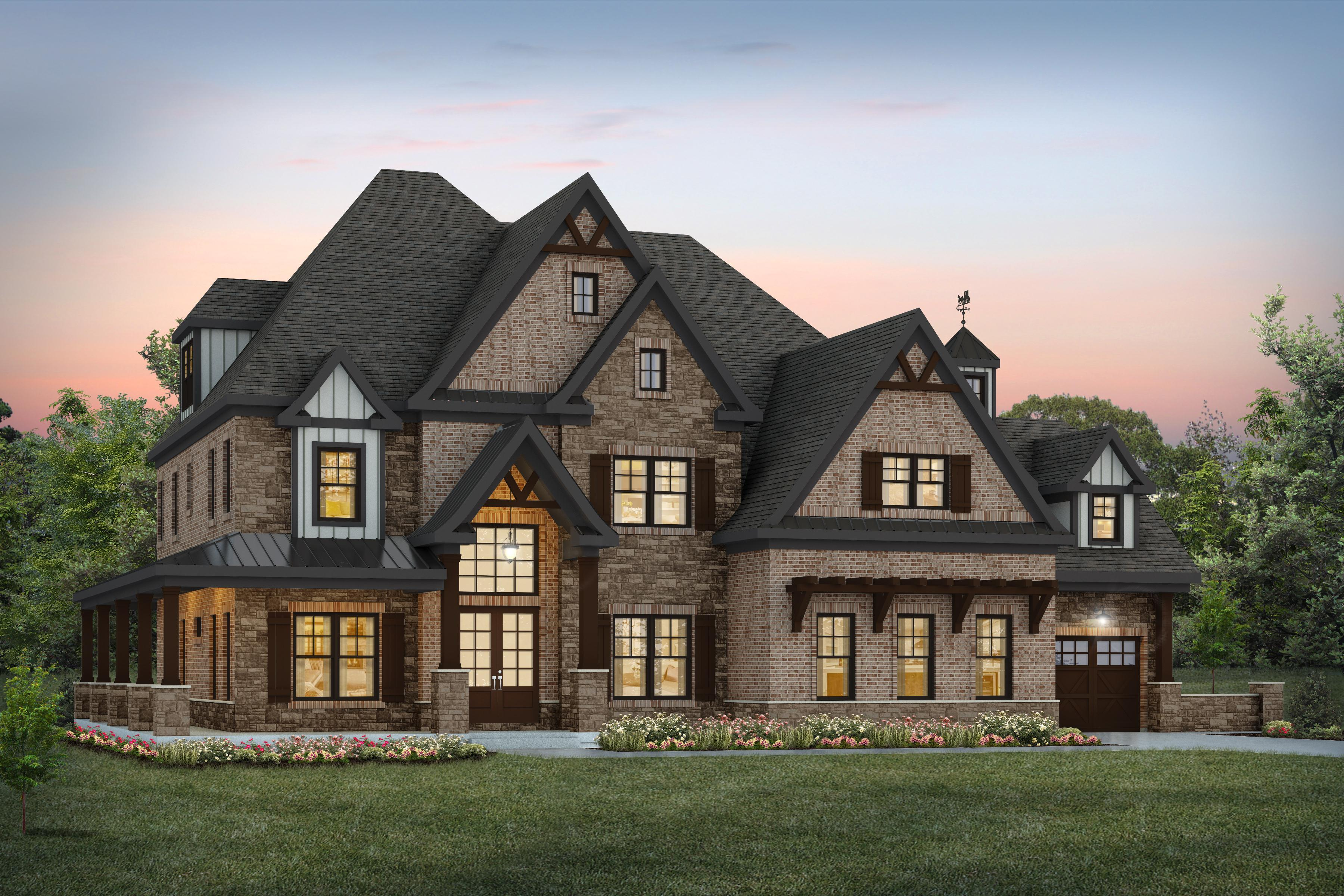 Exterior featured in the Nantucket By Infinity Custom Homes in Pittsburgh, PA