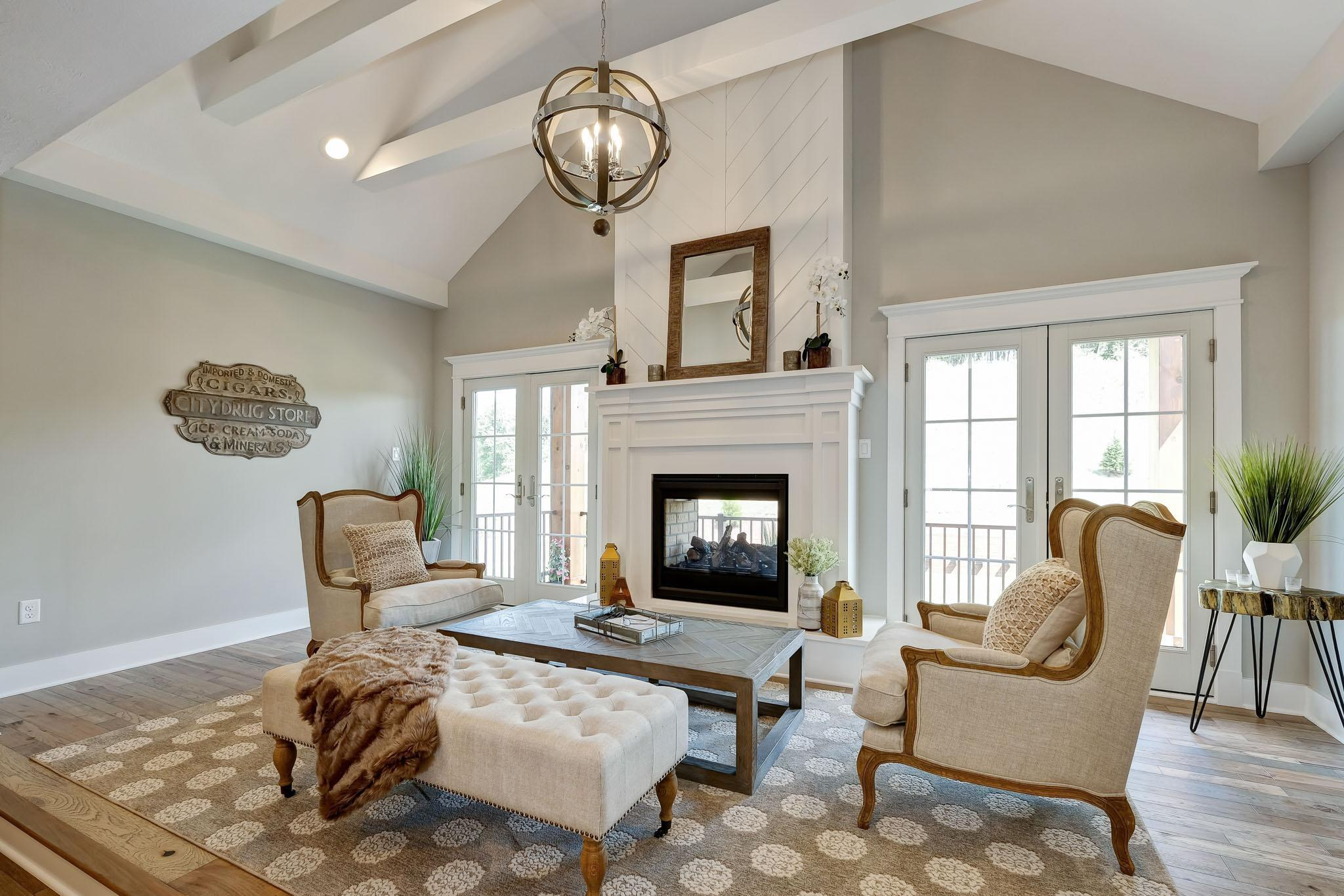 Living Area featured in the Nantucket By Infinity Custom Homes in Pittsburgh, PA