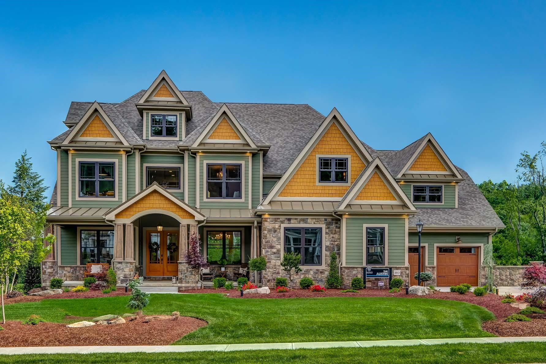 Exterior featured in the Austin By Infinity Custom Homes in Pittsburgh, PA