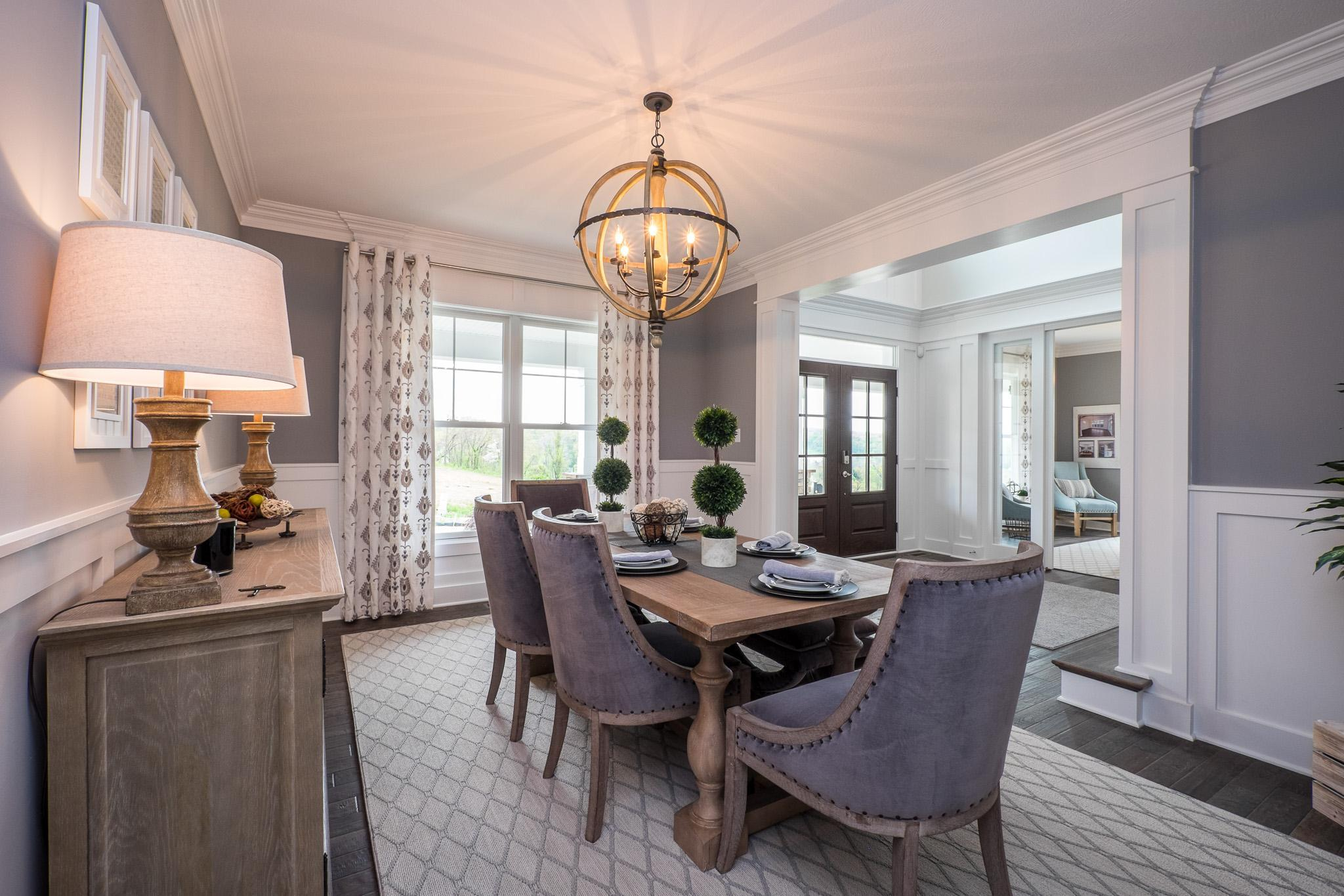 Living Area featured in the Cambridge By Infinity Custom Homes in Pittsburgh, PA