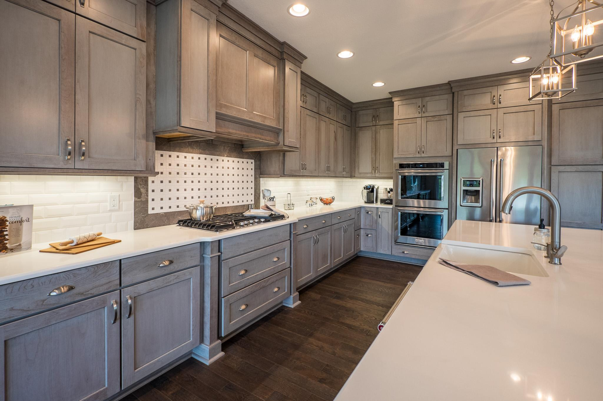 Kitchen featured in the Cambridge By Infinity Custom Homes in Pittsburgh, PA