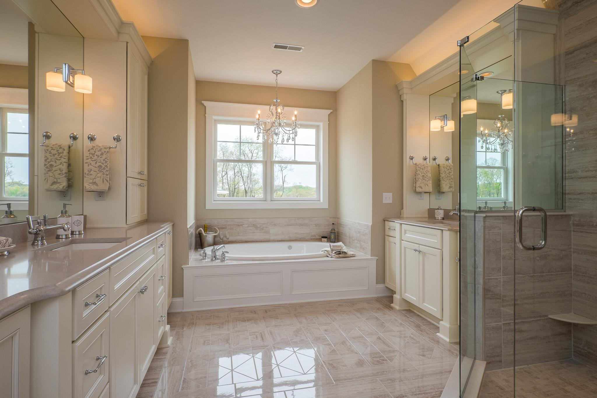 Bathroom featured in the Cambridge By Infinity Custom Homes in Pittsburgh, PA