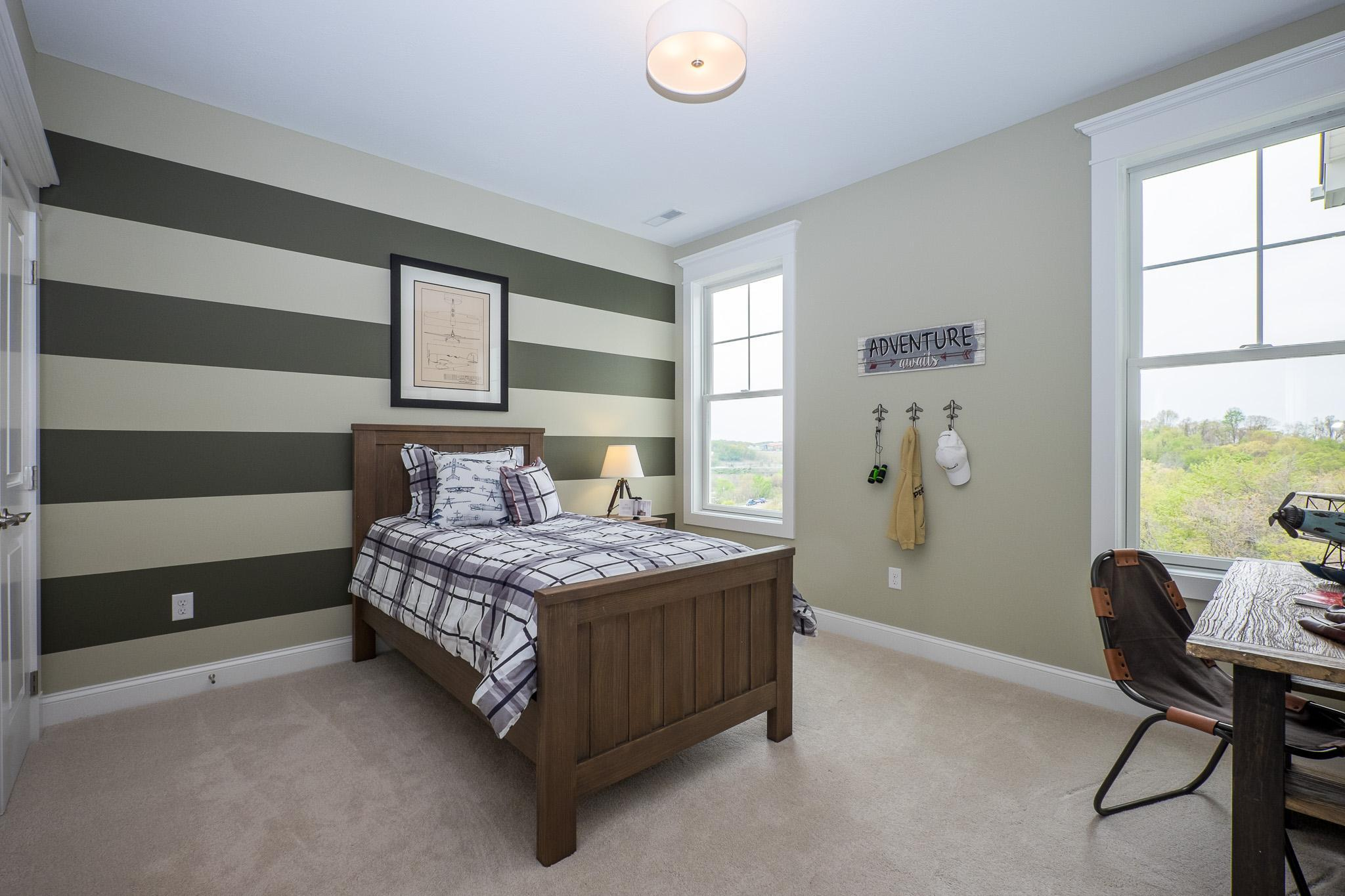 Bedroom featured in the Cambridge By Infinity Custom Homes in Pittsburgh, PA