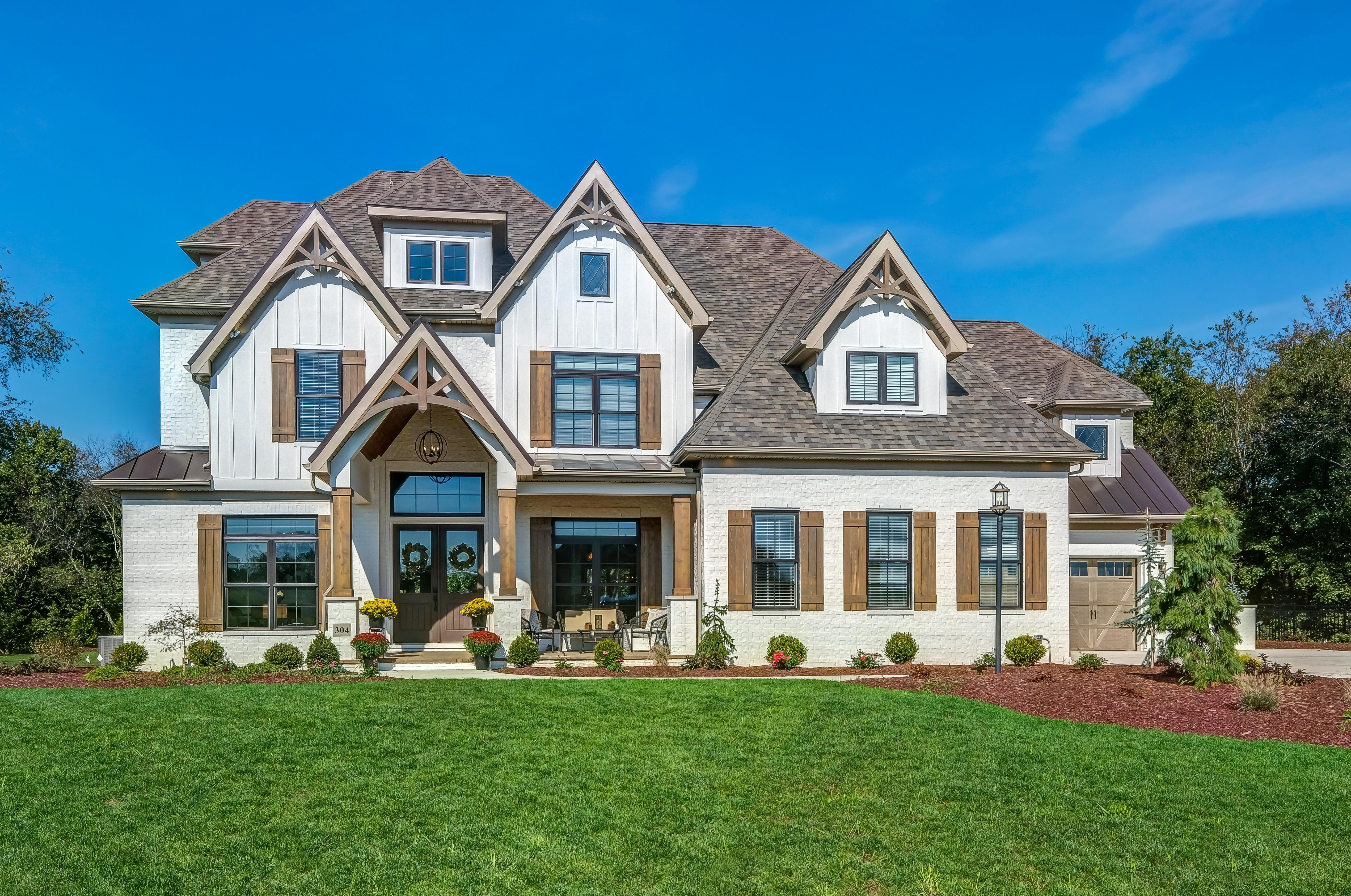 Exterior featured in the Portland By Infinity Custom Homes in Pittsburgh, PA