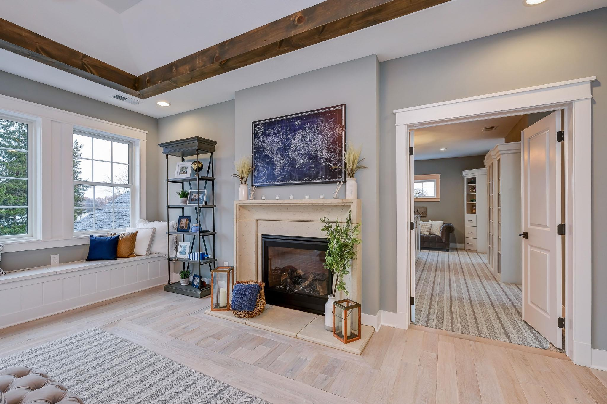 Living Area featured in the Portland By Infinity Custom Homes in Pittsburgh, PA