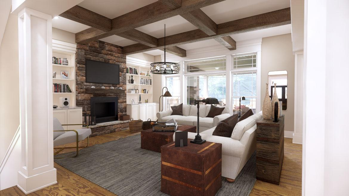 Living Area featured in the Colorado By Infinity Custom Homes in Pittsburgh, PA