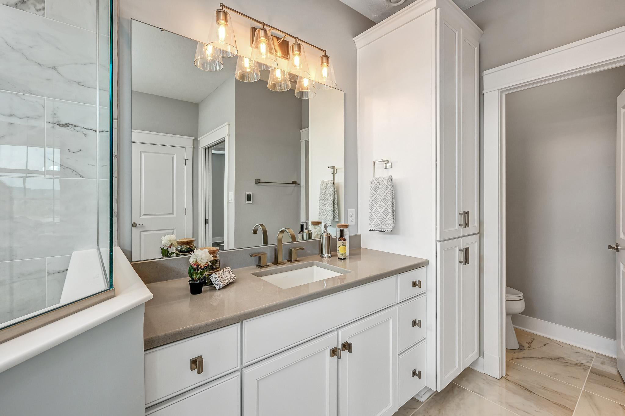 Bathroom featured in the Brooklyn By Infinity Custom Homes in Pittsburgh, PA