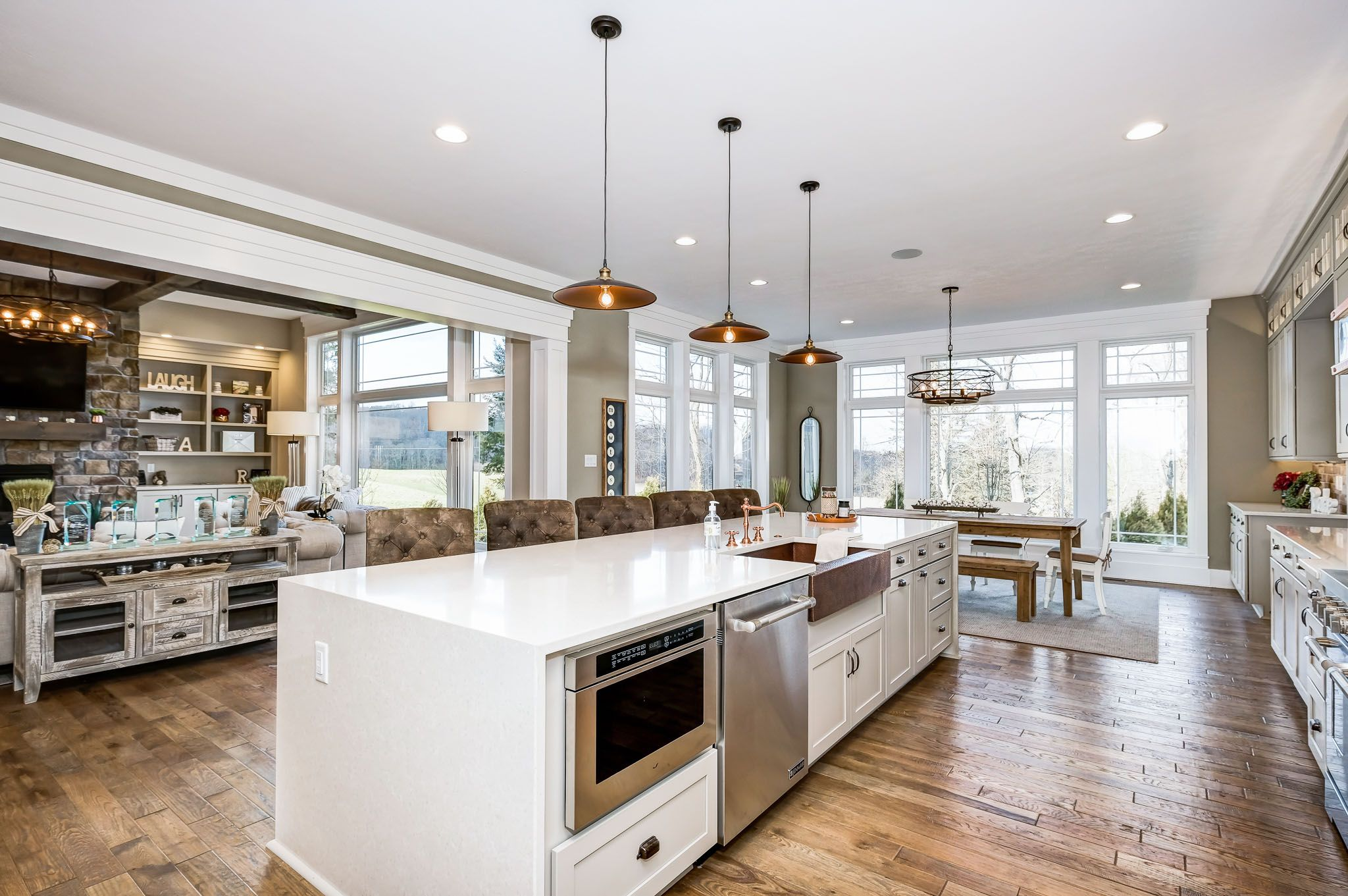 Kitchen featured in the Austin By Infinity Custom Homes in Pittsburgh, PA