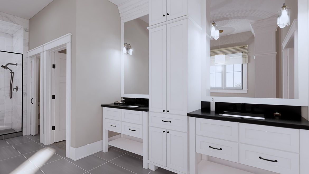 Bathroom featured in the Carolina By Infinity Custom Homes in Pittsburgh, PA