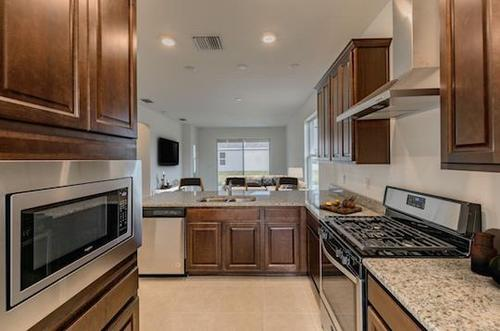 Kitchen-in-Ashland- Spanish Elevation-at-Dock Street Communities-in-Brooksville