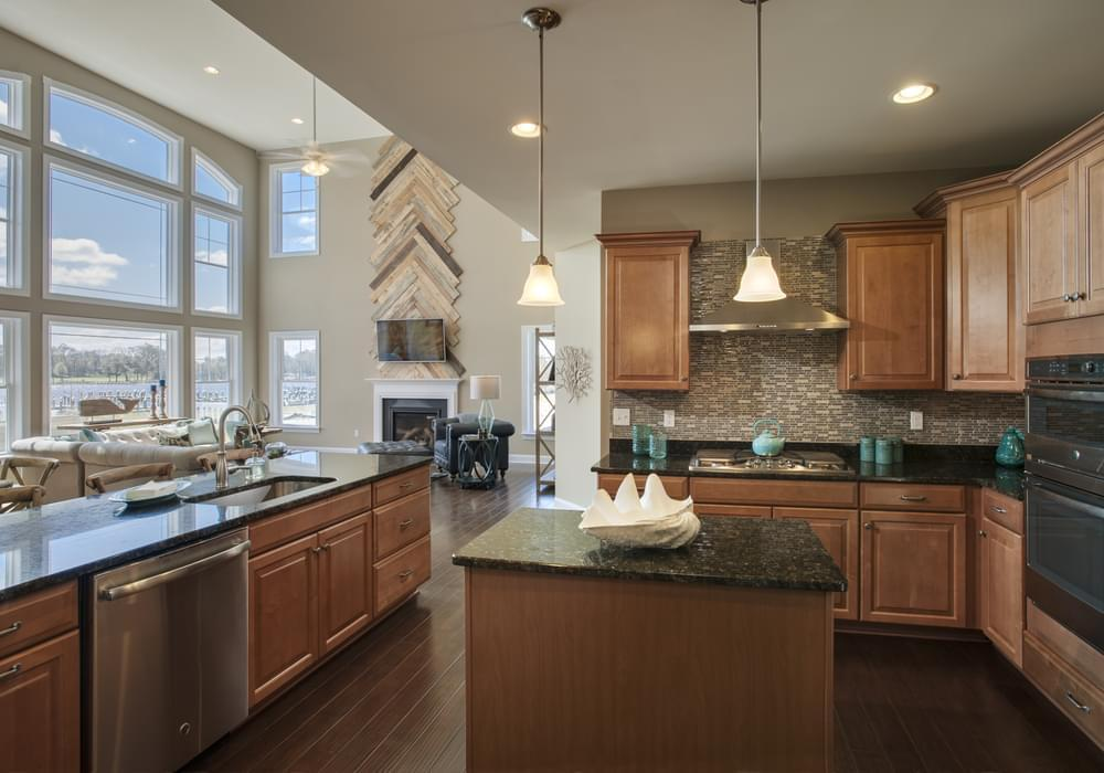 Kitchen featured in the Peterman By Insight Homes in Sussex, DE