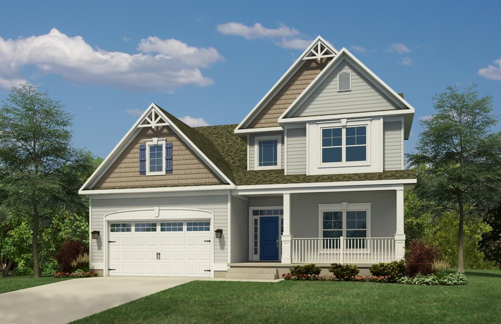 Exterior featured in the Frank By Insight Homes in Sussex, DE