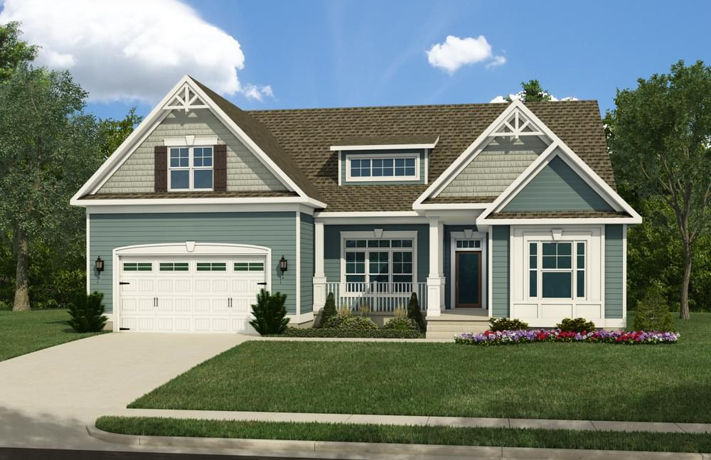 Exterior featured in the Jerry By Insight Homes in Sussex, DE