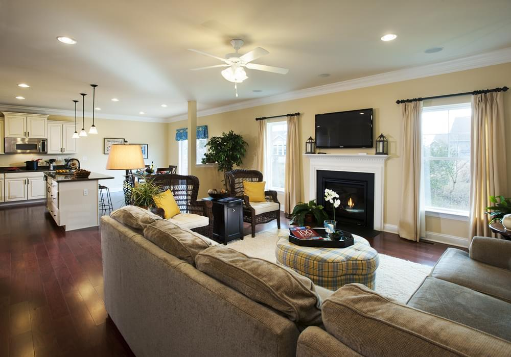 Living Area featured in the Jerry By Insight Homes in Sussex, DE