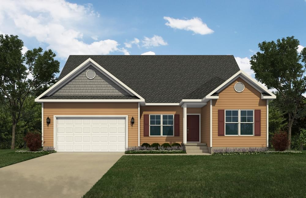 Exterior featured in the Whatley By Insight Homes in Sussex, DE