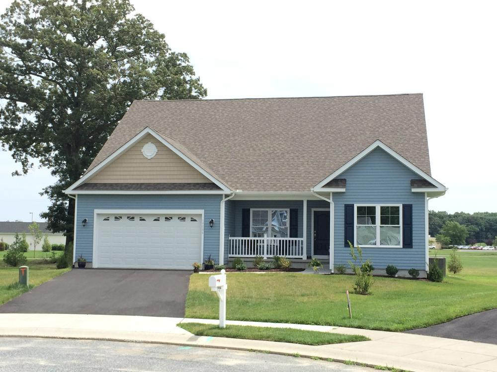 Exterior featured in the Whatley By Insight Homes in Dover, DE
