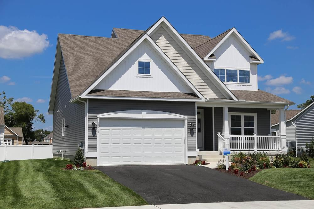 Exterior featured in the George By Insight Homes in Sussex, DE