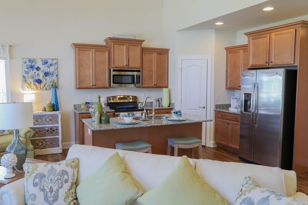 Kitchen featured in the George By Insight Homes in Sussex, DE