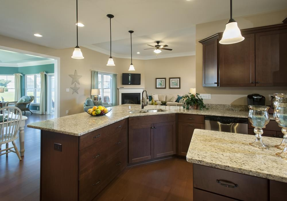 Kitchen featured in the Elaine By Insight Homes in Sussex, DE