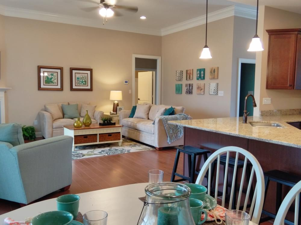 Living Area featured in the Elaine By Insight Homes in Sussex, DE