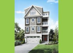 Isakoff Elevation 1 - Sunset Harbour at Bethany Beach: Ocean View, Delaware - Insight Homes