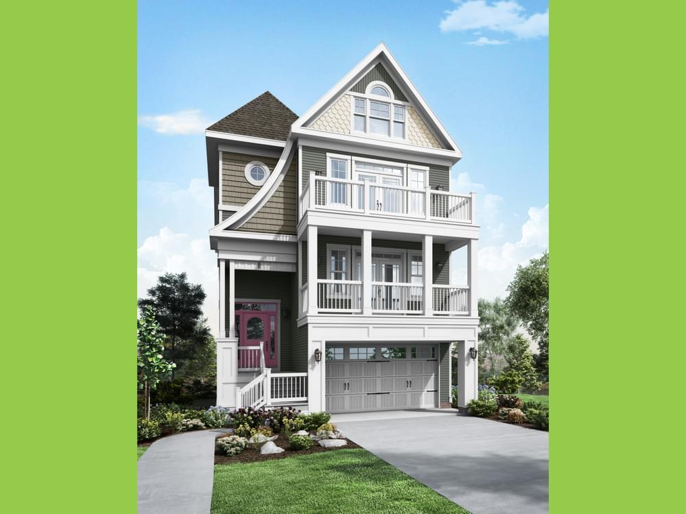 Exterior featured in the Thayer By Insight Homes in Sussex, DE