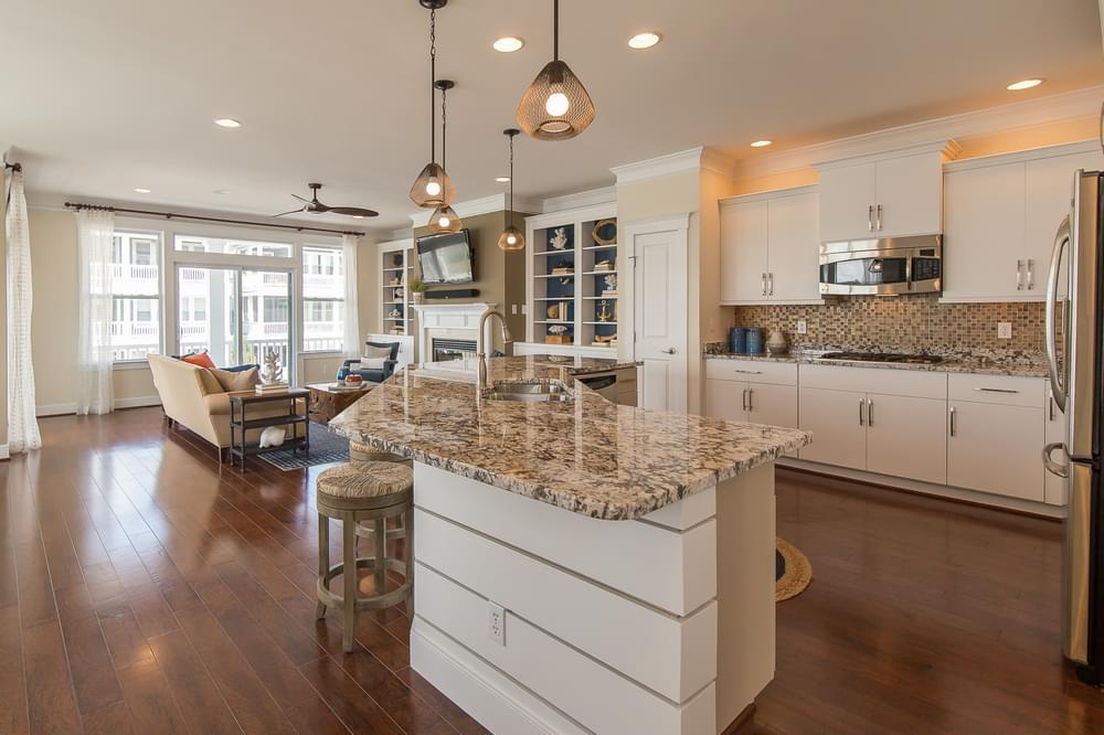 Kitchen featured in the Thayer Elevation 2 By Insight Homes in Sussex, DE