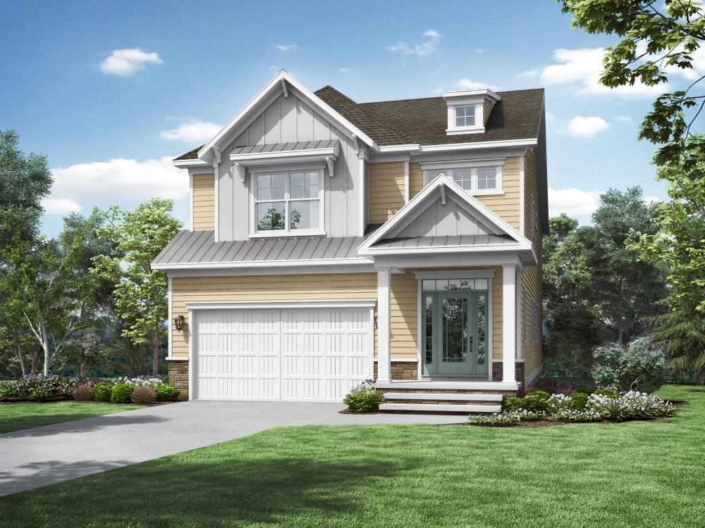 Exterior featured in the Morgan By Insight Homes in Sussex, DE